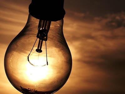 energia eletrica lampada