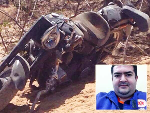 medico-do-Samu-morto-em-acidente-de-moto