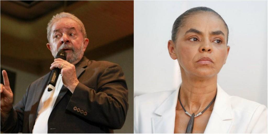 Lula e Marina lideram pesquisa sobre eleições presidenciais