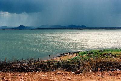 Resultado de imagem para fotos barragem armando ribeiro gonçalves