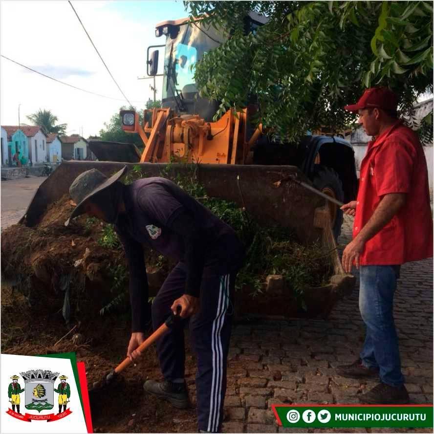 Prefeitura de Jucurutu realiza mutirão de limpeza