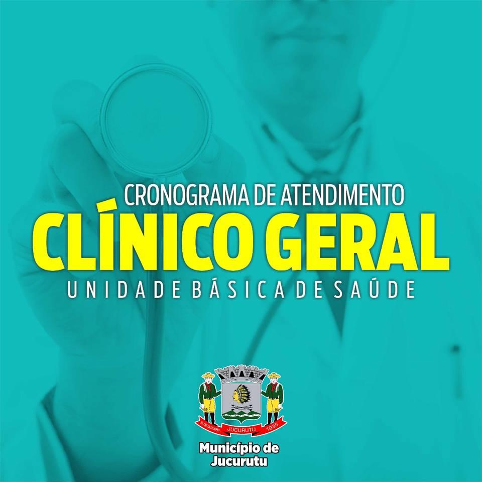 Secretaria de Saúde divulga cronograma de atendimento com clínico geral nas UBS´s