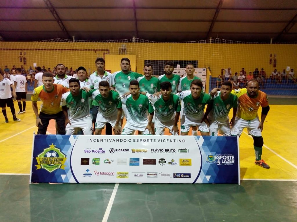 Seleção de Jucurutu estreia com vitória na Copa São Vicente Férrer de Futsal