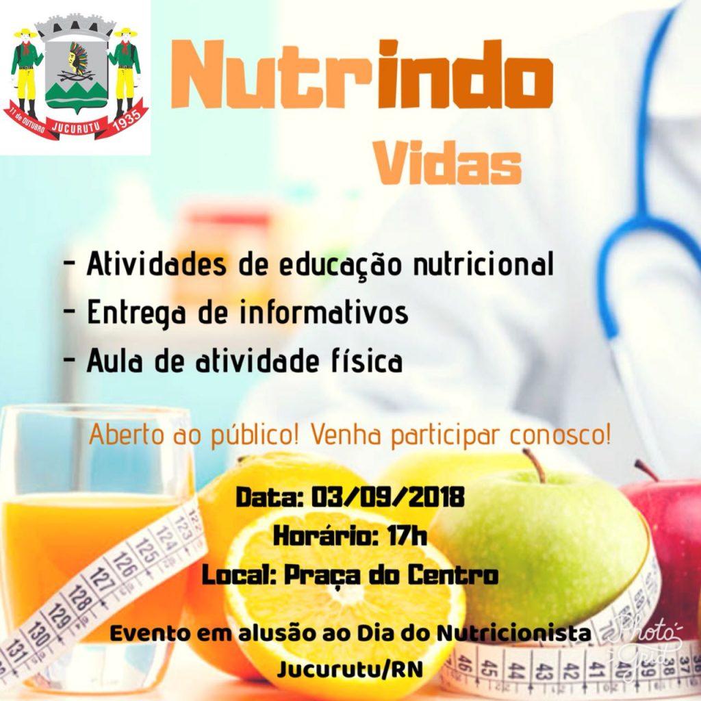 Prefeitura de Jucurutu promoverá evento alusivo ao Dia do Nutricionista
