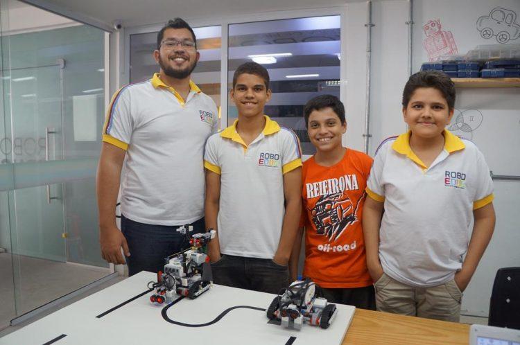 Resultado de imagem para Estudantes potiguares preparam-se para Olimpíada Brasileira de Robótica