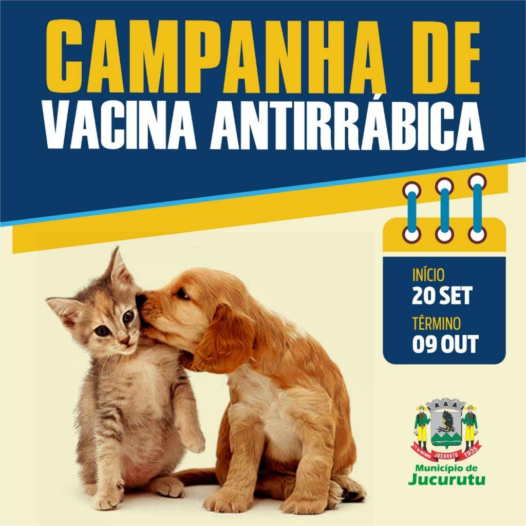 Jucurutu dará inicio Campanha de Vacinação Antirrábica