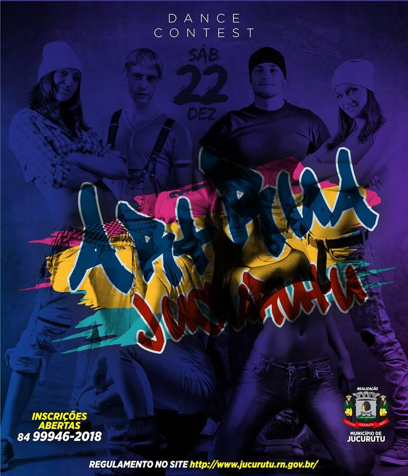 Prefeitura promove 2° Concurso de Dança – Arte & Rua de Jucurutu
