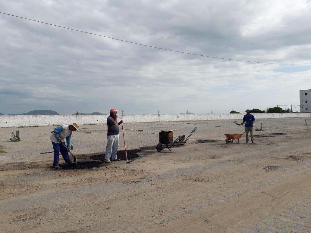 Prefeitura de Jucurutu realiza mais uma vez operação tapa buraco