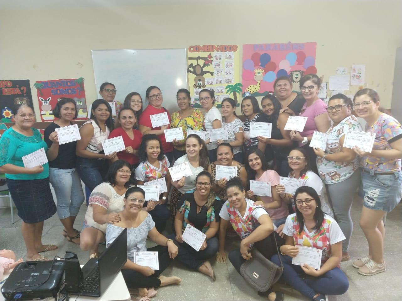 Secretaria de Educação e Cultura realizou capacitação sobre Primeiros Socorros no Ambiente Escolar