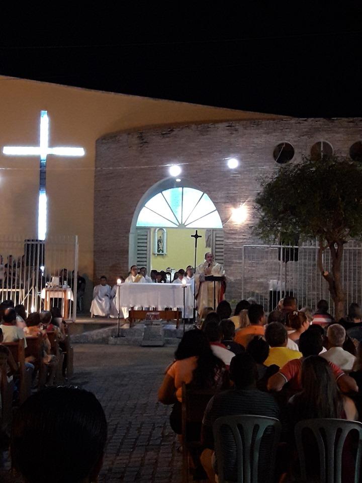 Comunidade Católica jucurutuense celebrou sete anos de vida sacerdotal do Pe. Hipólito
