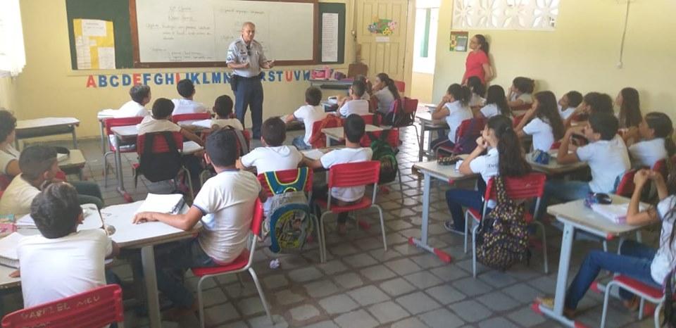 Jucurutu: Aulas do Proerd tiveram início nesta quarta-feira (17)